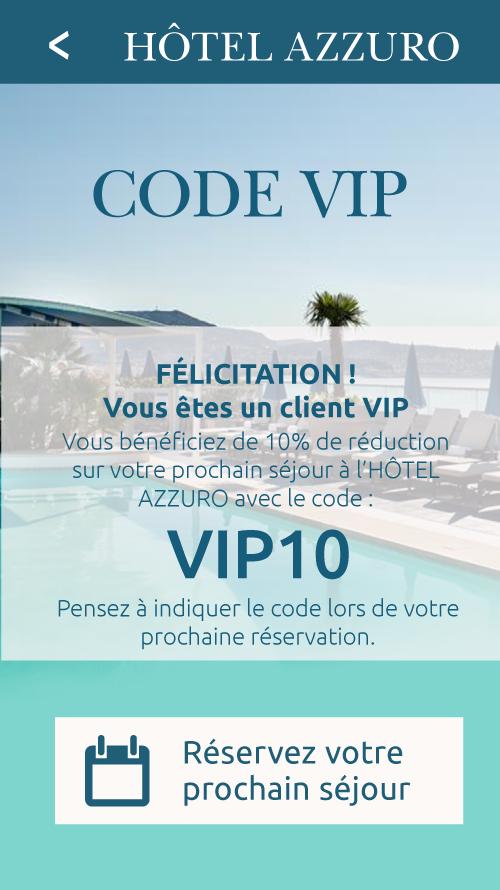 Code VIP